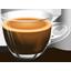 Чашка крепкого кофе