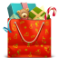 Пакет с подарками