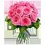 Розовый букет