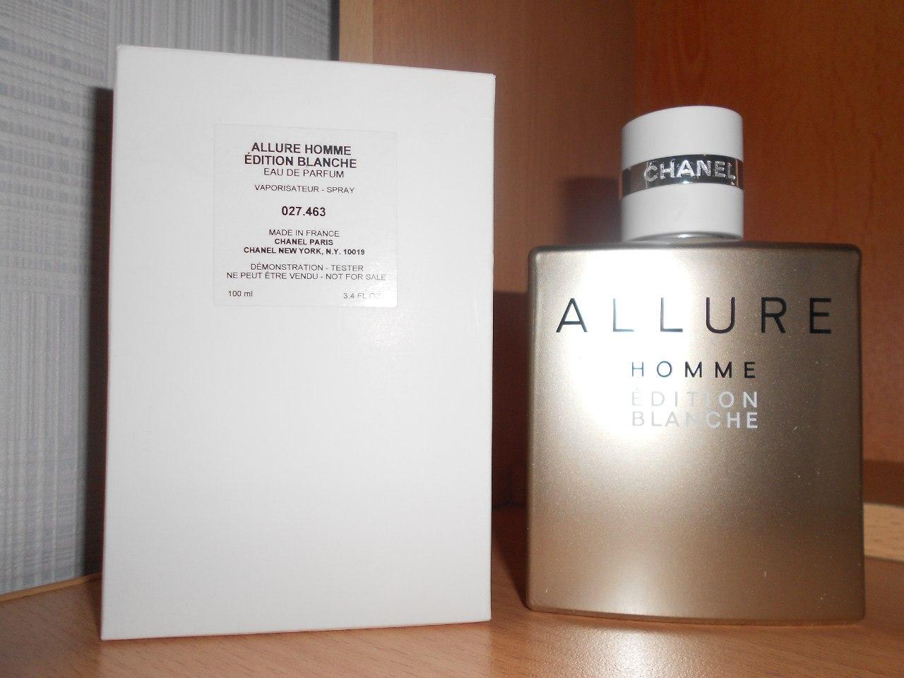 Allure Homme Edition Blanche Eau De Parfum Laparfumerie лучший