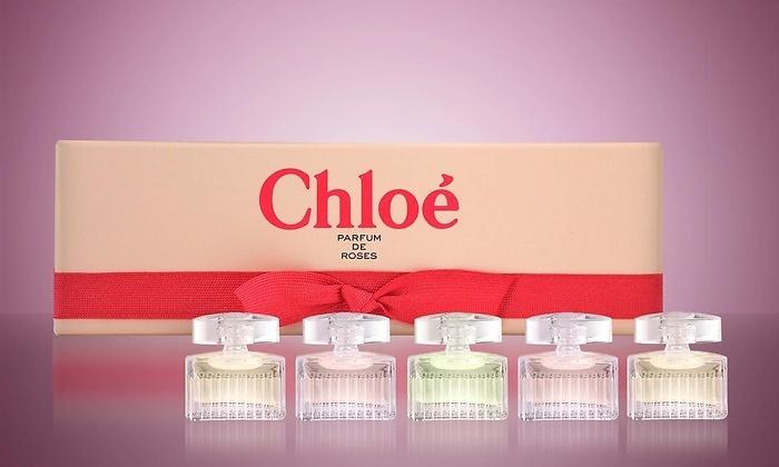 Chloe Parfum De Roses набор эксклюзивных ароматов ароматы