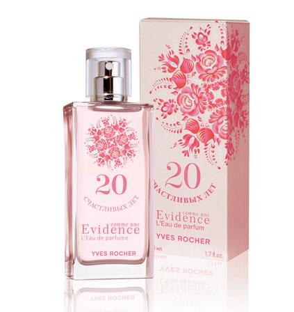 Comme Une Evidence Leau De Parfum 20 счастливых лет Yves Rocher